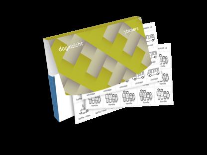 afbeelding van mapje met stickervellen